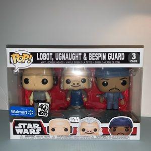 Lobot, Ugnaught & Breslin Guard Star Wars Funko